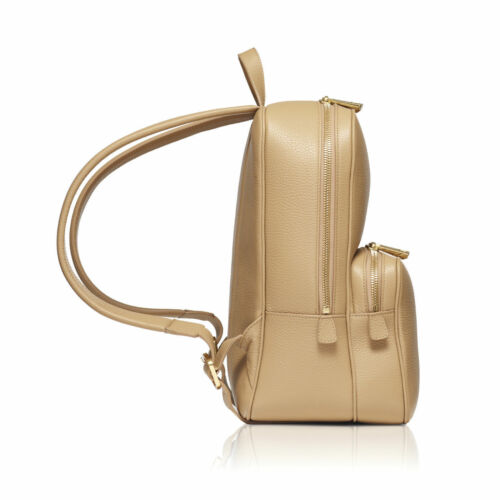 Made Palermo Leather Caramel In Woman's Itlalian Backpack Global Coloured 100 dBwCIqt