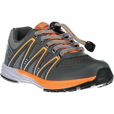 Cmp Sneakers Scarpe Sportive Kids Merak Fitness Shoe Wp Grigio Impermeabile Tinta-