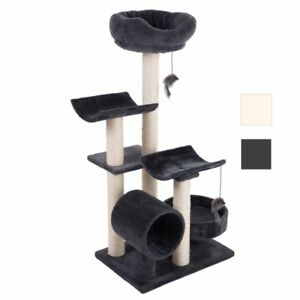 Cat-Tree-Kittens-Older-Cats-Den-Scratching-Post-Tower-Condos-Play-Sleep-Catnap