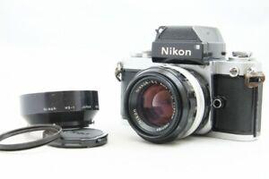 EXC Nikon f2 Photomic silber mit Nikkor-Masarskich s.c Auto 50mm f1.4 Lens aus Japan #2173