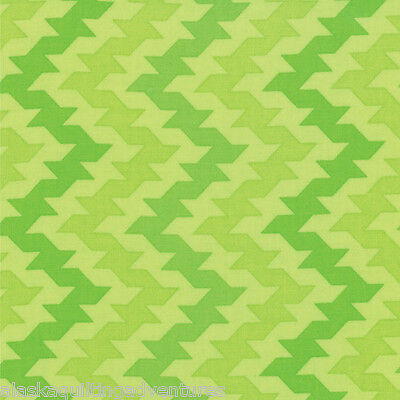 by 1//2 yard Green MODA Fabric ~ GIGGLES~ by Me /& My Sister 22203 13