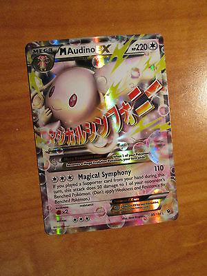 NM MEGA Pokemon M ALTARIA EX Card FATES COLLIDE Set 69//124 XY X and Y Ultra Rare