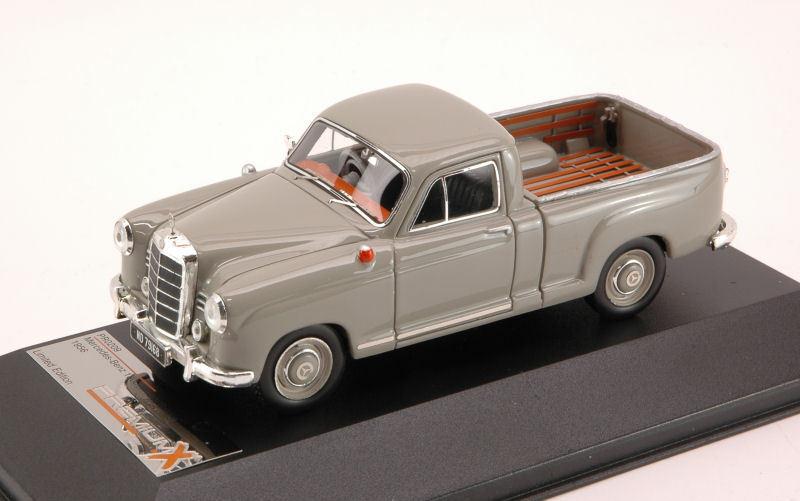Mercedes 180D Bakkie 1956 gris 1 43 Model PREMIUMX