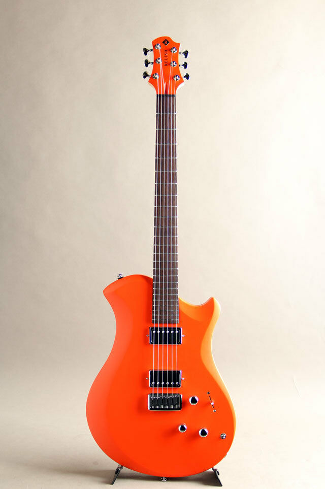 RELISH GUITARS Fiery W Mary with Piezo with Hard Case E.Guitar Free Shipping