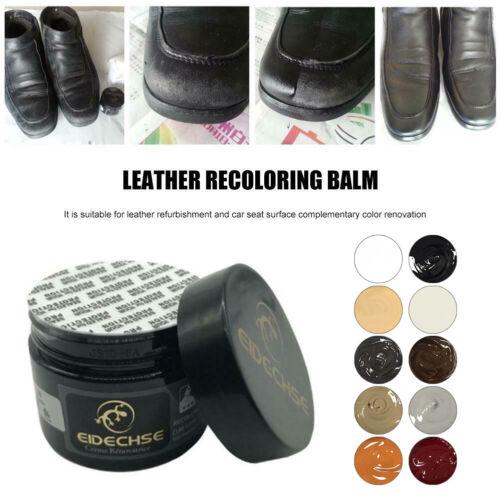 EIDECHSE Leather Recolouring Balm//Leather/&Vinyl Repair Paste Filler Cream Putty@