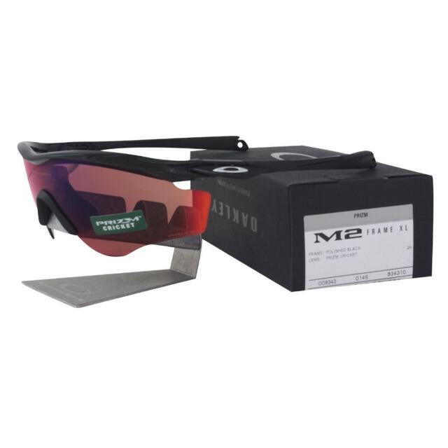 Sunglasses Oakley M2 Frame XL 9343-10 Polished Black Prizm Cricket ...