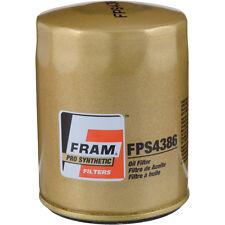 Fram Pro Synthetic FPS4386 Oil Filter LOT(3 THREE) fits XG4386 10-2840 M1-103