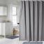 100-tissu-polyester-Design-Moderne-Lavable-Rideau-de-douche-avec-12-crochets miniature 18