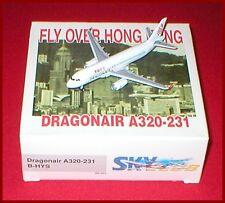 Dragon Wings Dragonair A320 Fly Over Hong Kong 1/400 # B-HYS NEW IN BOX