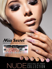 Mia Secret Nude Polymer  ACRYLIC POWDER  6 pcs Works W Acrylic Dip System