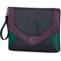 Dakine Jules Large Wallet Hand Bag Plum Blocks