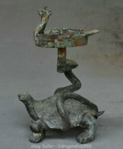 Titulaire-de-chandelier-de-7-6-034-ancien-bronze-chinois