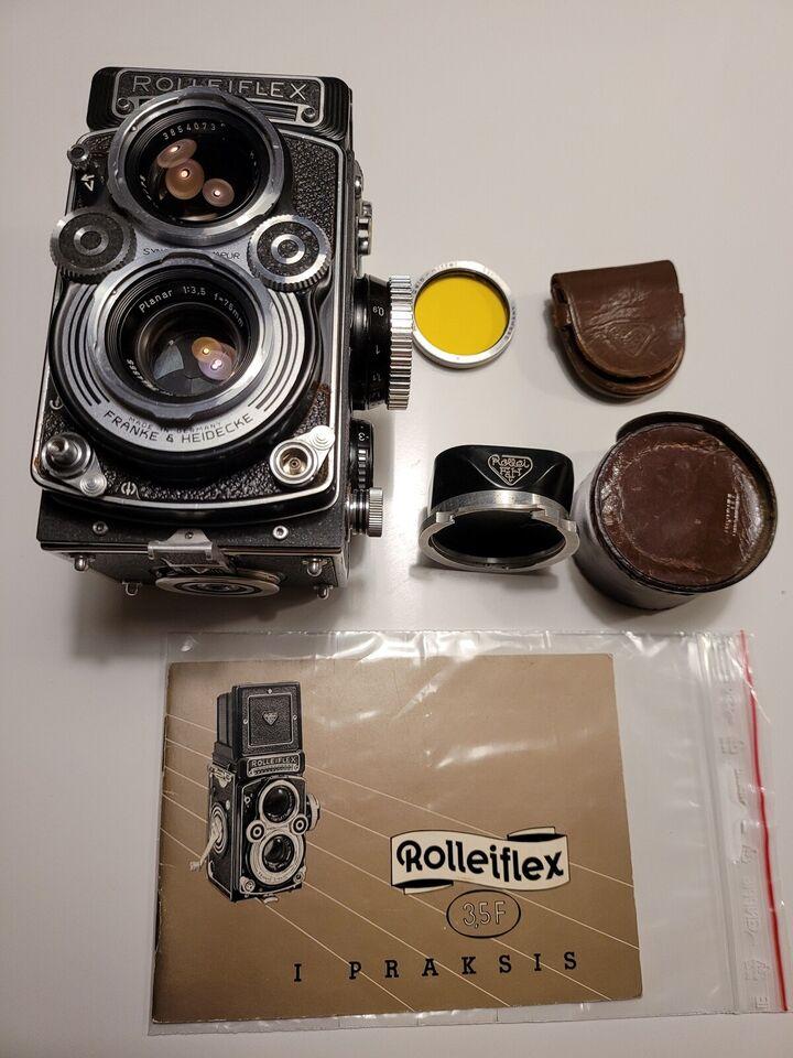 Rolleiflex, 3.5F planar, God