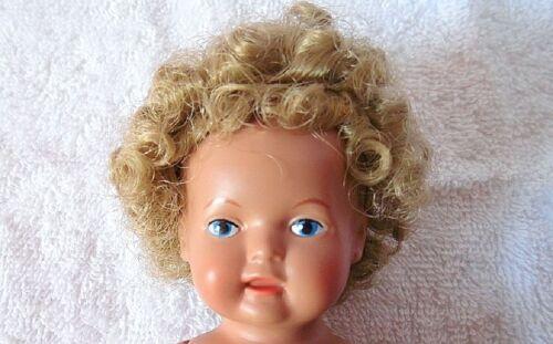 Puppen Perücke Echthaar 14 cm Kopfumfang Schildkröt für 16 cm Strampelchen  9032