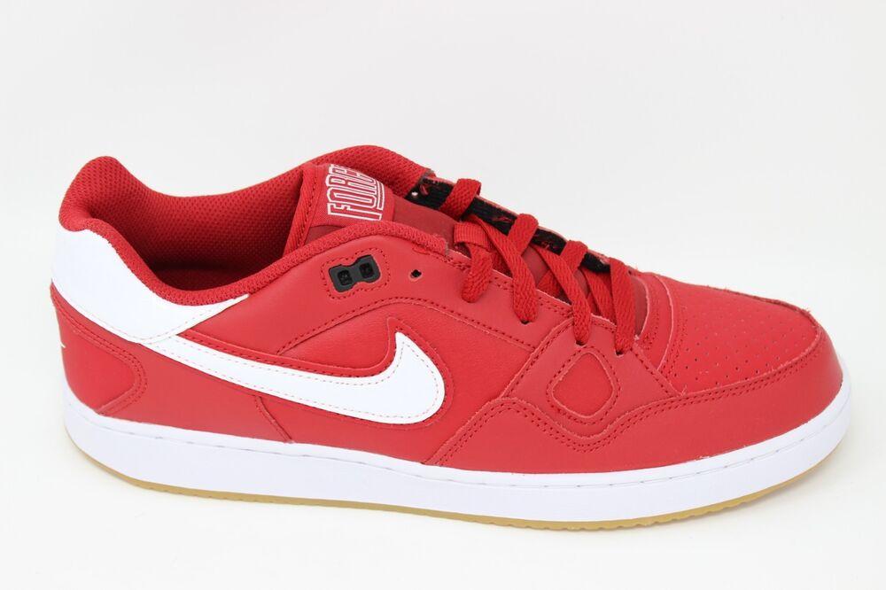 Nike Homme Son Of Obliger 616775 619 Rouge/blanc-noir-Gum Neuf dans la Boîte