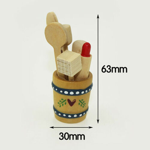 1:12 Miniature kitchenware dollhouse diy doll house decor accessories EP