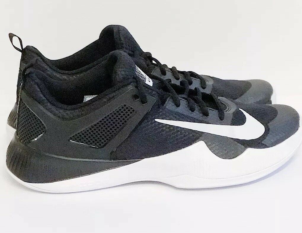 Nike Air Zoom Hyperace Volleyball Black White Women's Size 14 New