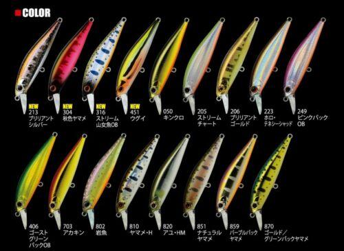 Perch Trout Japan Wobbler Bait ZipBaits Rigge Flat 60S Fishing Killer