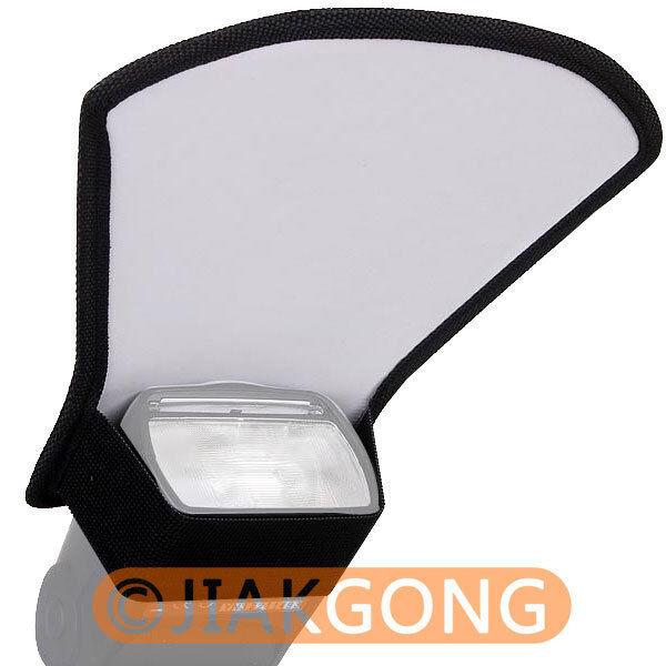 Flash Diffuser Softbox Silver/White reflector For CANON NIKON PENTAX Minolta