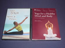 Teaching Co Great Courses DVDs       YOGA for HEALTHY MIND & BODY    new + BONUS