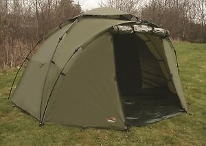 Image is loading TF-Gear-Green-Force-8-2-Man-Bivvy- & TF Gear Green Force 8 2 Man Bivvy Carp Fishing Shelter Ex Demo ...
