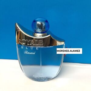 Rasasi Pour Homme Royal Blue Men Fruity Musky Eau De Parfum