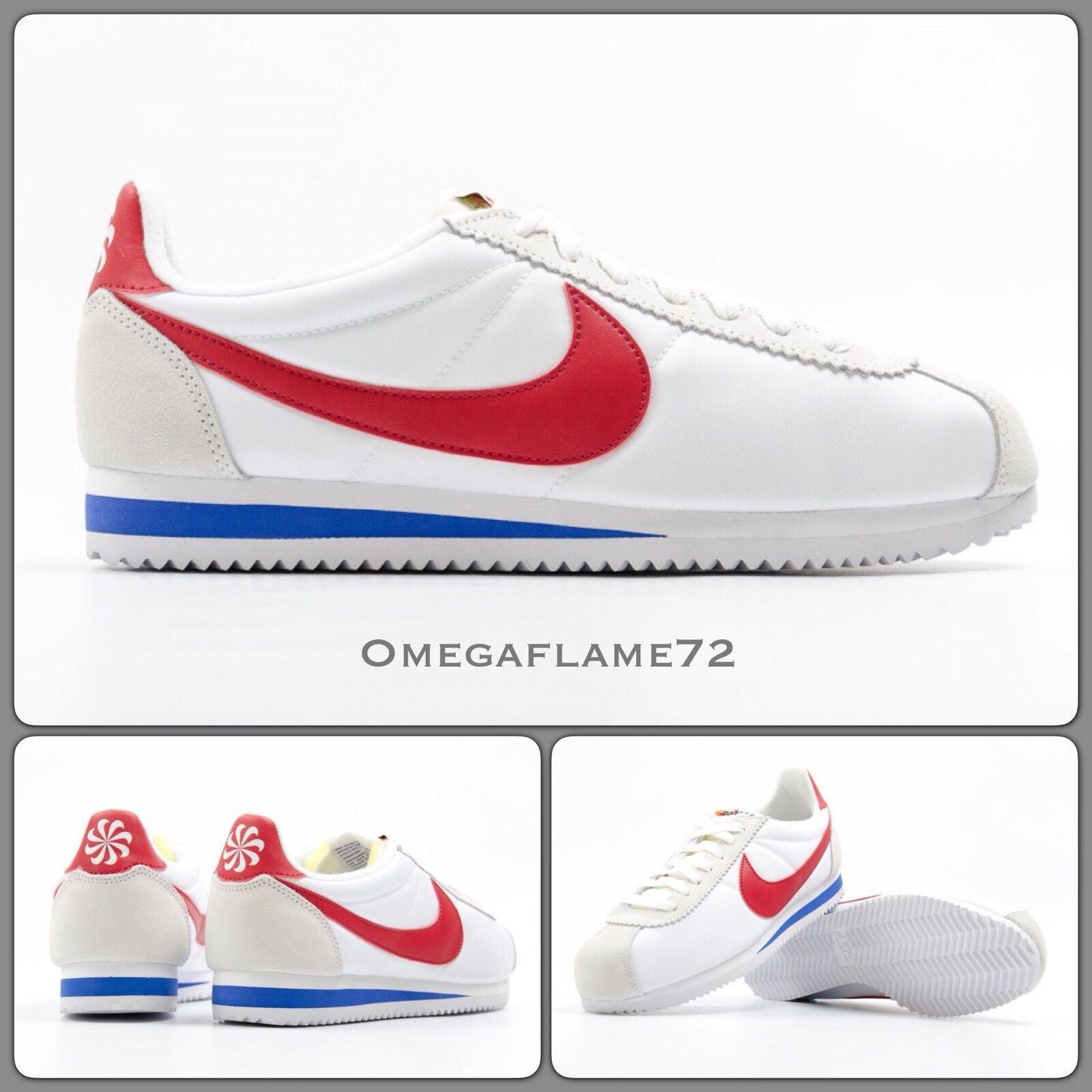 Nike cortez og qs, bianco - rosso - forrest gump 847709-164 6