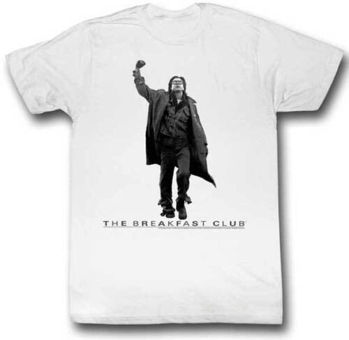 The Breakfast Club Judd Nelson Final Scene Adult T Shirt Classic Movie