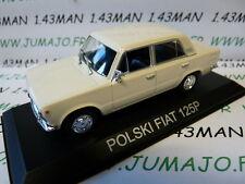 Auto 1/43 IXO DEAGOSTINI Balkan : POLSKI FIAT 125P