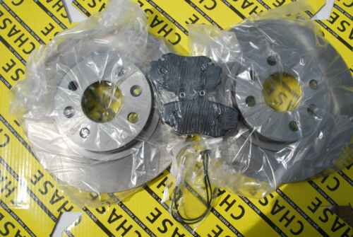 Sandero 08 With ABS 259mm Front Brake Discs And Pads Dacia Logan 04-13