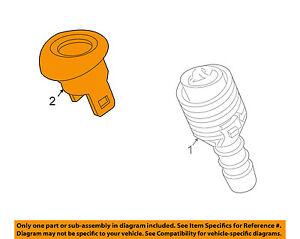 JAGUAR-OEM-04-07-XJ8-Headlight-Washer-Cover-C2C3375XXX