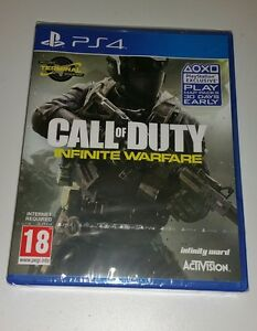 Call-of-duty-infinite-warfare-inc-dlc-PS4-neuf-scelle-uk-pal-Sony-PlayStation-4