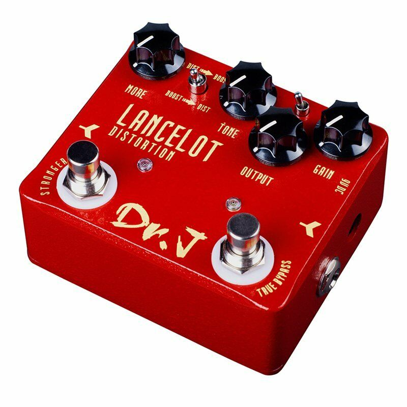 Joyo Dr.J D59 Lancelot Distortion Mosfet Diode Boost Guitar Effect Pedal
