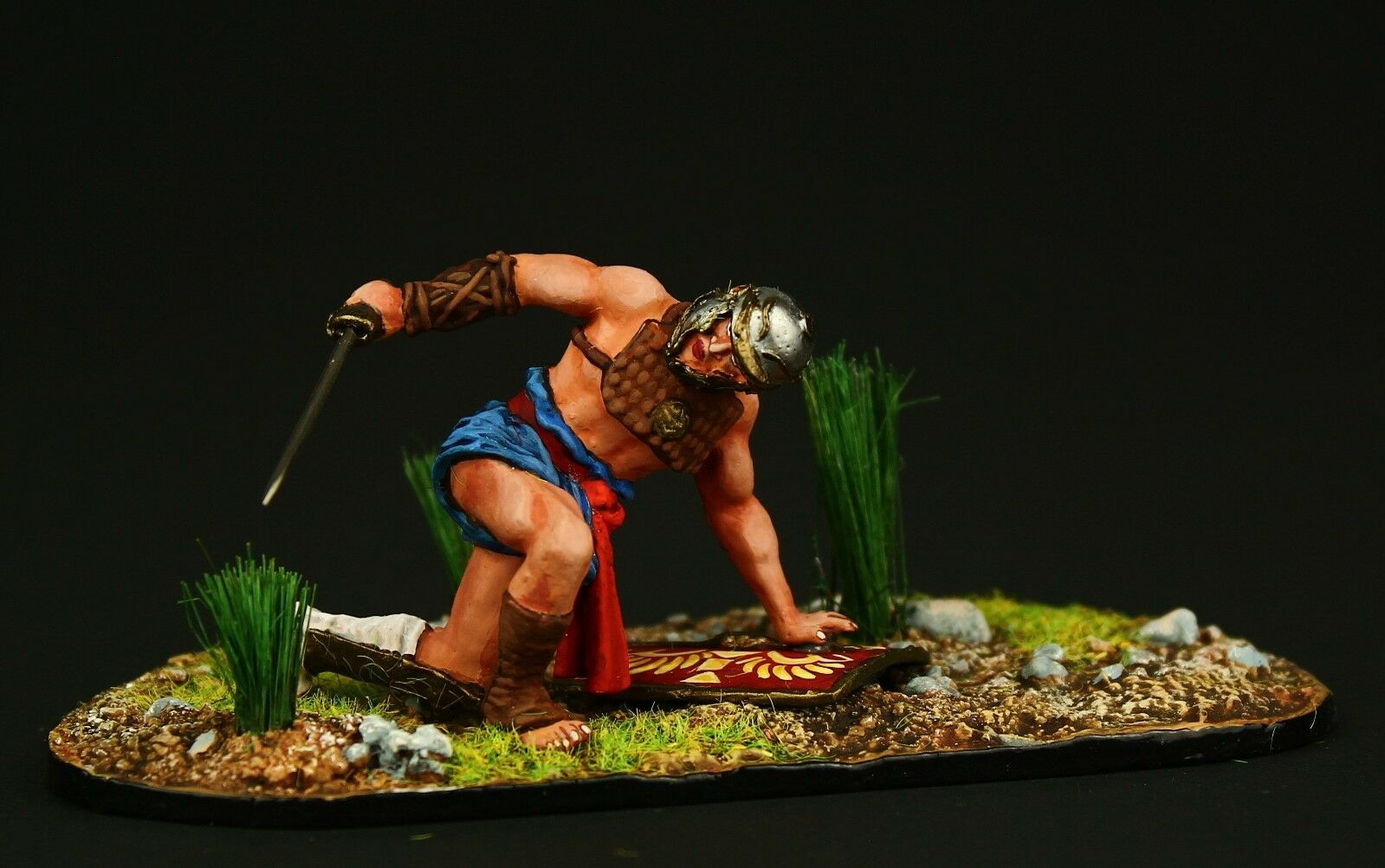 Elite  Gladiator Provocator Tin toy soldier 54 mm,metal sculpture