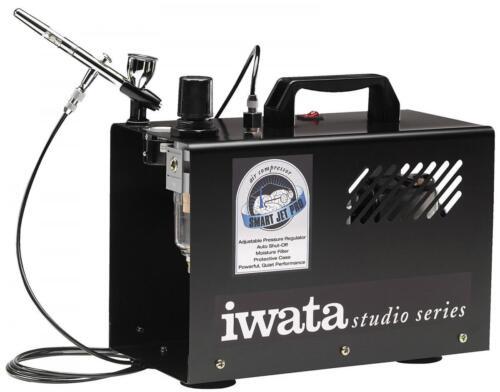 Iwata Studio Series Smart Jet Pro compresseur IW-Smartp (Aérographe non inclus)