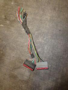 AM FM Cette Radio Wire Harness 95 96 97 Ford Explorer XLT ...  Ford Explorer Stereo Wiring Harness on