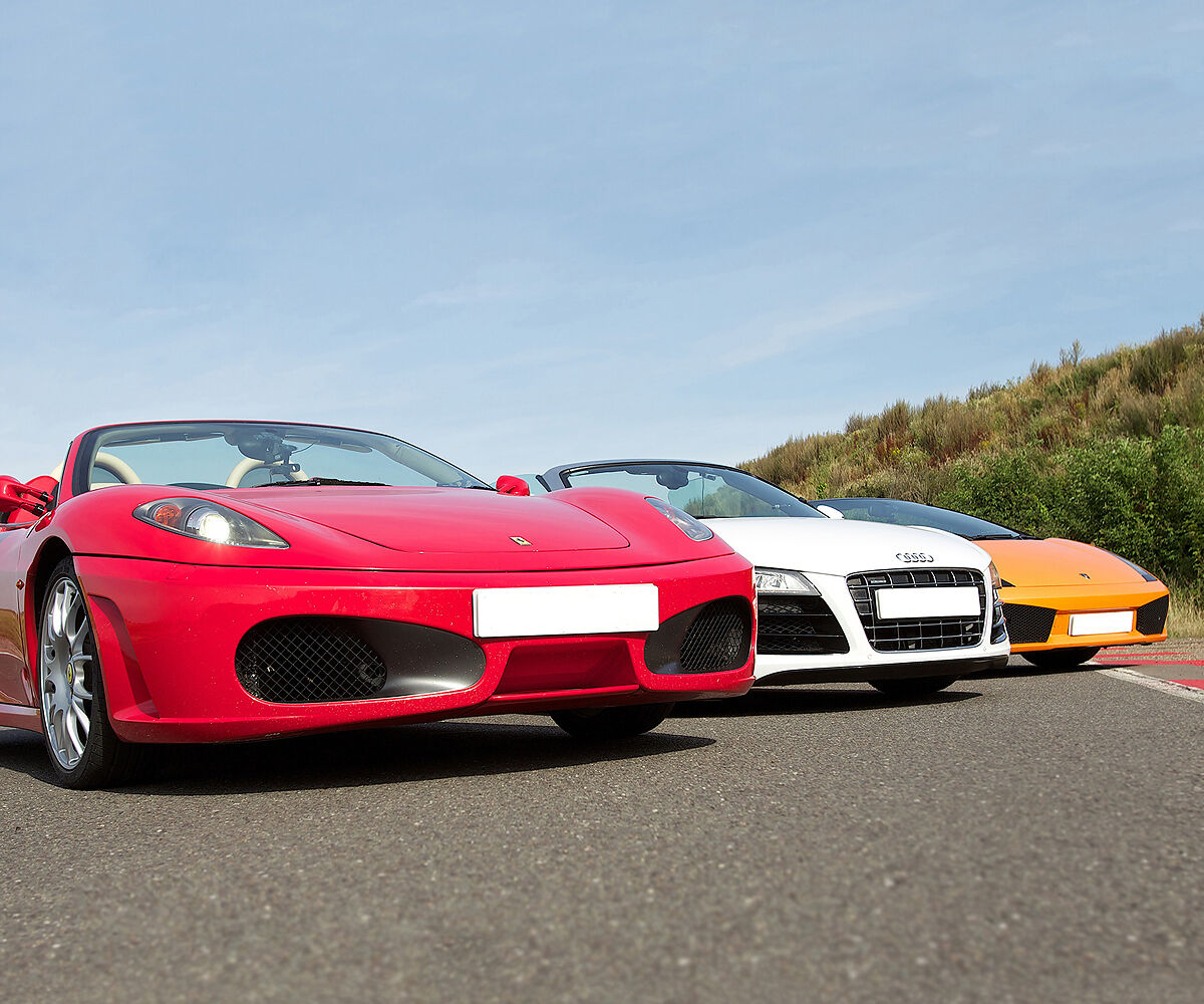 HALF PRICE Supercar Drive & High Speed Ride - valid at least 9 months from issue