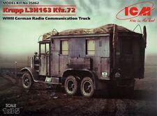 ICM 1/35 Krupp L3H163 Kfz. 72 Radio Communication Truck # 35462