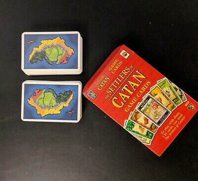 No Box 4th edition Settlers of Catan Cards Full Deck