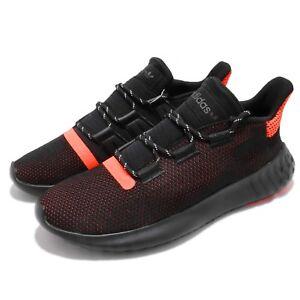 b2569d9e6437 adidas Originals Tubular Dusk Black Solar Red Men Running Shoes ...