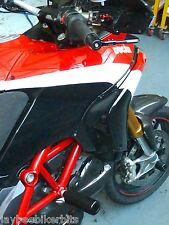 Ducati Multistrada 1200 S 2010 - 2015 CRASH MUSHROOMS SLIDERS BOBBINS BUNGS S11W