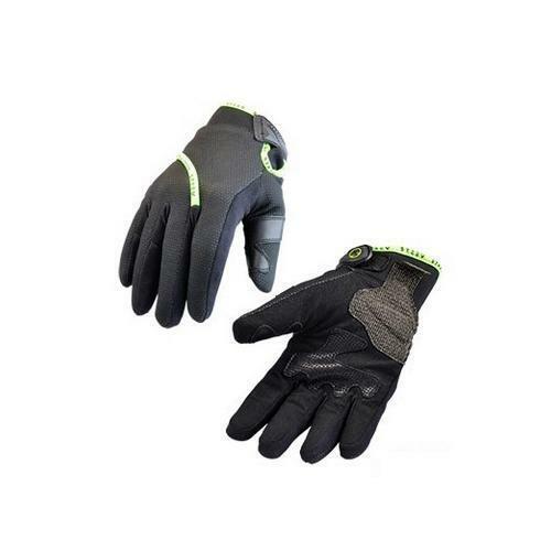 Coque CE epi 1kp Gant noir//vert fluo taille M marque Steev Oural 2018 Hiver