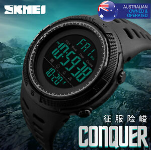 SKMEI-Sport-Smart-Watch-Pedometer-Bluetooth-50M-Waterproof-Digital-Wristwatches