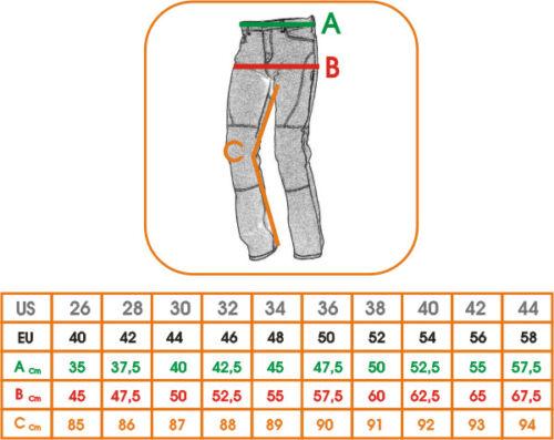 Waterproof Motorcycle Motorbike Textile Thermal Long leg Fit Trousers Size 44