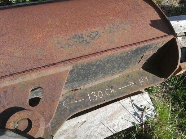 Andet, - - - Kipbar planerskovl 130 cm. med Beco RA skifte