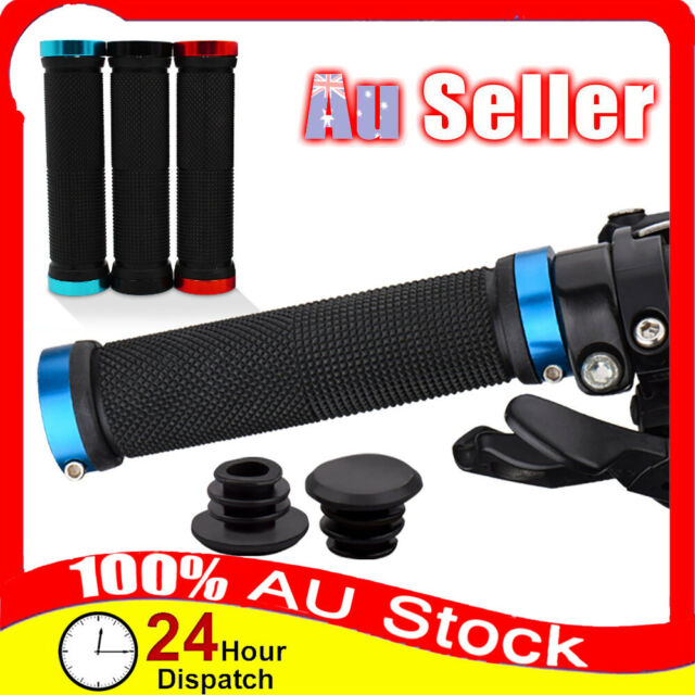Double Mountain Sleeve Locking Bicycle Grips HandleBar Aluminum Alloy Bike Cycle