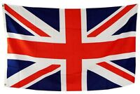 Union Jack Giant Large Flag 9 feet x 6 feet Great Britain British Queen Olympics