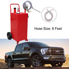 2 Way Rotary Pump 30 Gallon Can Manual Gas Caddy Fuel Container Tank Withvented