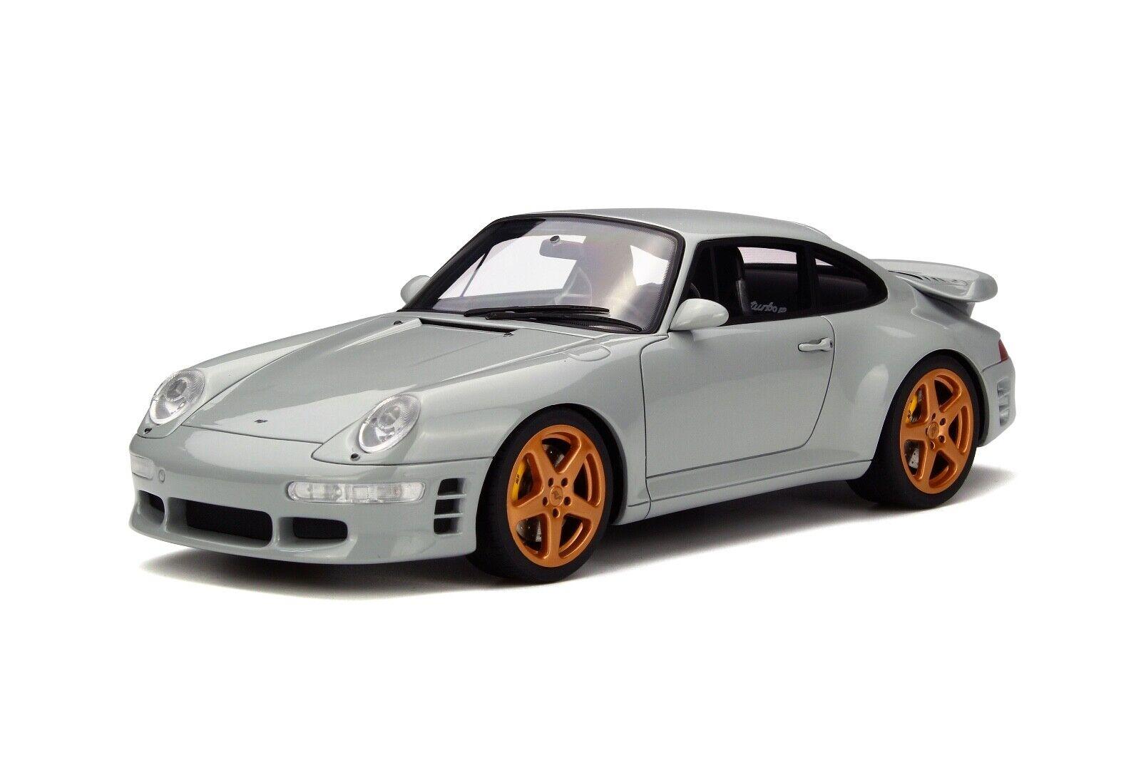 in vendita 1 18 GT Spirit Spirit Spirit Porsche 911 ( 993 ) Turbo R by Ruf in grigio  GT145  stile classico