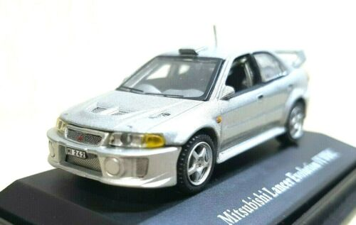 1//72 Hongwell MITSUBISHI LANCER EVOLUTION VI WRC SILVER diecast car model